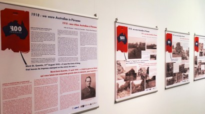 We Were Australian In Peronne Exhibition image