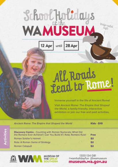 School Holidays at the WA Museum image
