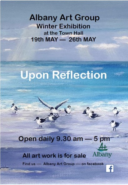 Albany Art Group Winter Exhibition - Upon Reflection  image