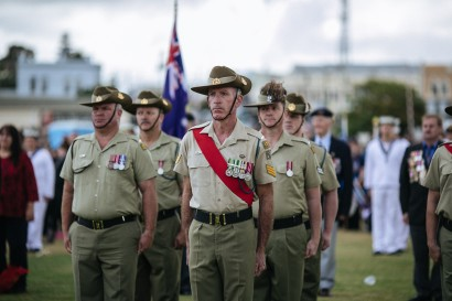Remembrance Day Troop March & Memorial Service 2018 image
