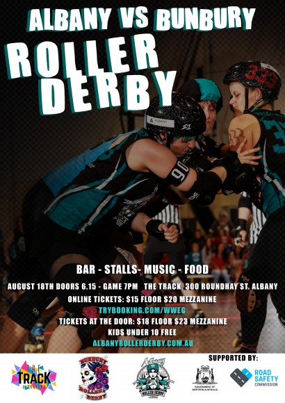 Albany Roller Derby to take on Bunbury! image