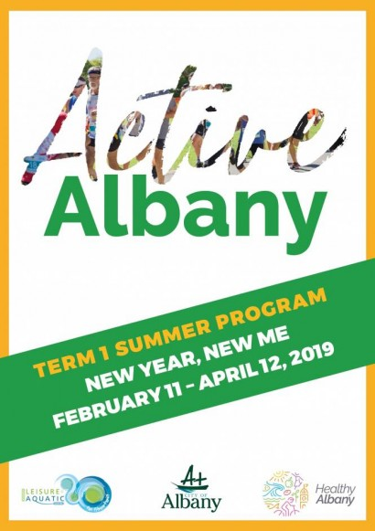 Active Albany Term 1 Summer Edition  image