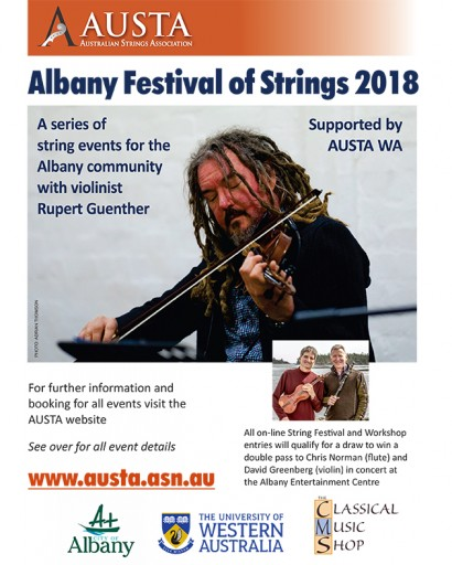 Albany Festival of Strings 2018 image