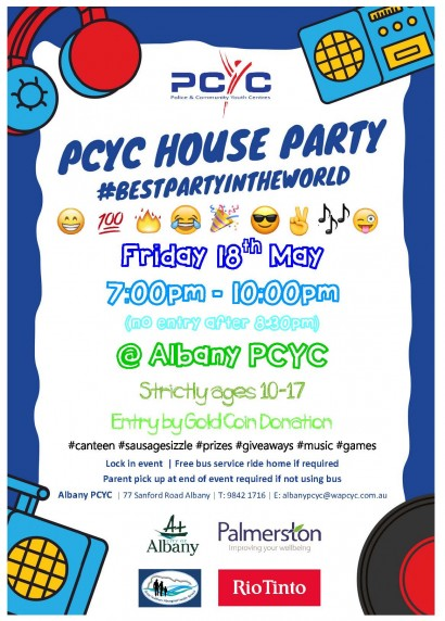 PCYC House Party  image