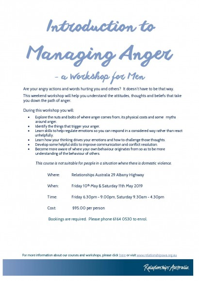 Introduction to Managing Anger image