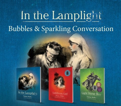 Bubbles and Sparkling Conversation - In the Lamplight image