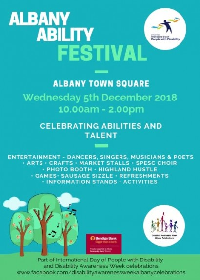 Albany Ability Festival 2018 image