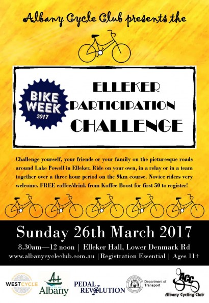 BIKE WEEK Elleker Participation Challenge image
