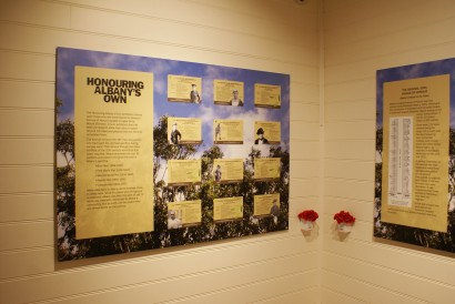 Honouring Albany's Own Exhibition image