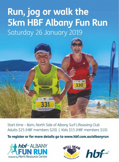 HBF Albany Fun Run 2019 image