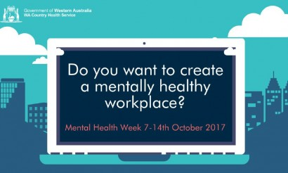 Mental Health Week - Turn Blue for a Day 2017 image