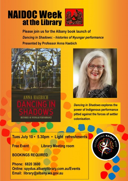 Book Launch - Dancing in Shadows image