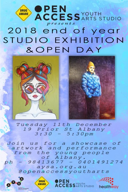Open Access End of Year Studio Exhibition and Open Day image