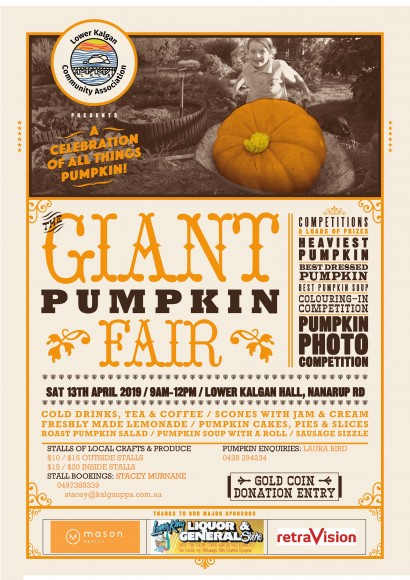 Giant Pumpkin Fair 2019 image