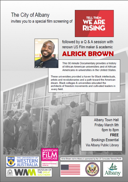 Tell Them We Are Rising: The Story of Black Colleges - Albany Town Hall Screening image