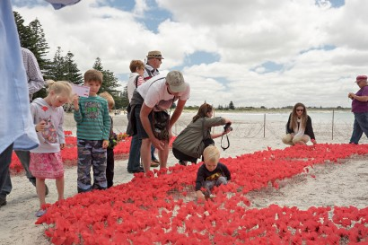 Poppies in the Sand and Memorial Service 2018 image