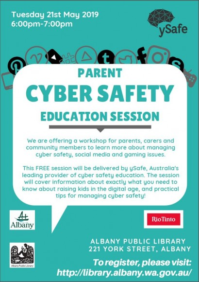 Cyber Safety for Parents image
