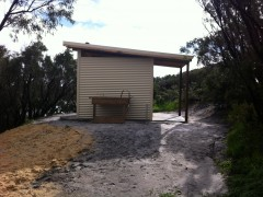 Vandalism to Muttonbird Beach toilets image