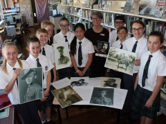 Students come together to Remember war heroes image