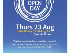 UWA Open Day image