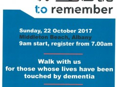 Alzheimer's WA Walk to Remember  image