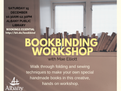 Bookbinding Workshop image