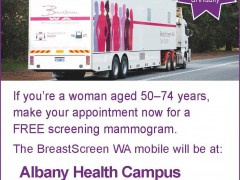 Free mammograms for Albany women image