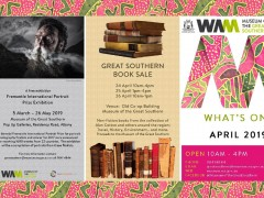 Great Southern Museum - April Calendar of Events 2019 image