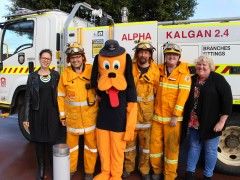 Community event to thank firies image