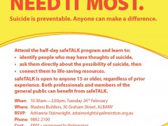safeTALK program image