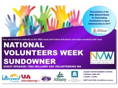 National Volunteers Week Sundowner image