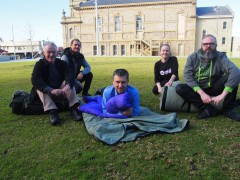 Sleep Out in the Town Square image