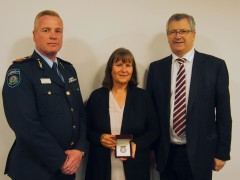 Posthumous honour for long serving volunteer firefighter image