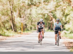 Over 55s Cycle Club visit Albany image