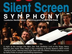 Albany Sinfonia Silent Screen Symphony image