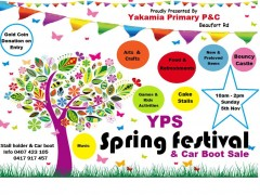 Yakamia Spring Festival & Car Boot Sale image