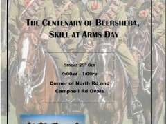 10th Light Horse Albany Troop - The Centenary of Beersheba, Skill at Arms Day image