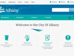 City launches new-look website image