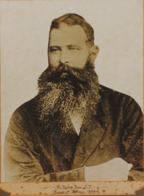 Recognition for Albany's first Mayor image