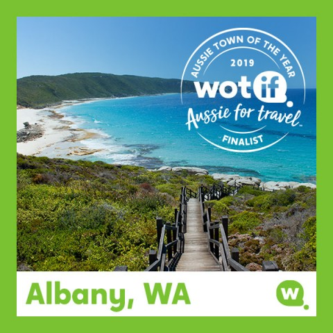 Albany snares spot as top WA destination image
