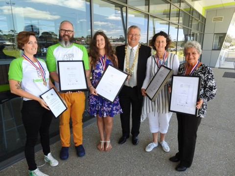 Active citizens awarded on Australia Day image
