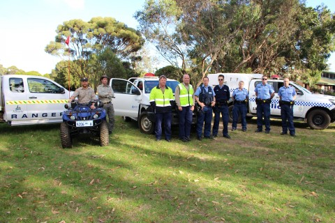 Agencies crackdown on off-road vehicles image