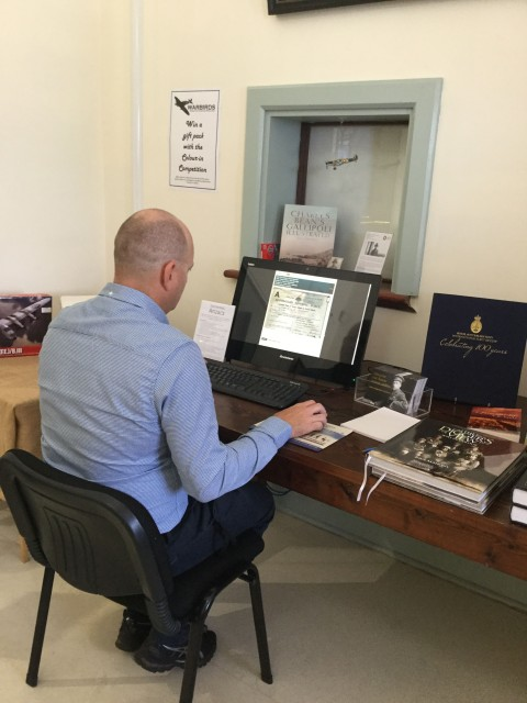 National Anzac Centre launches complimentary research kiosk for visitors image