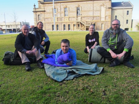 CEO joins Sleep Out for homelessness image
