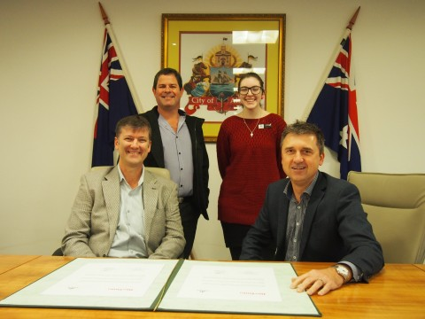City signs MoU with Rio Tinto image