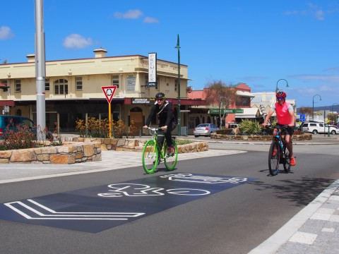 York Street gets Share the Road message image