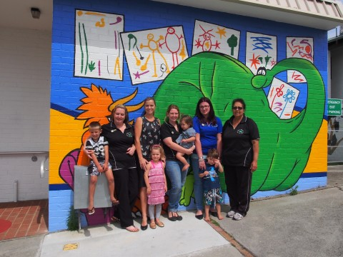 Grant funds new shade sails at day care centre image