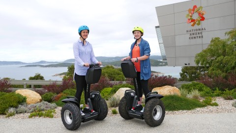 Segway tours arrive at National Anzac Centre image