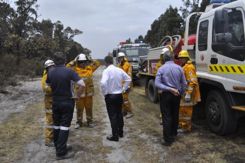 Prescribed Burn - Bon Accord Road image